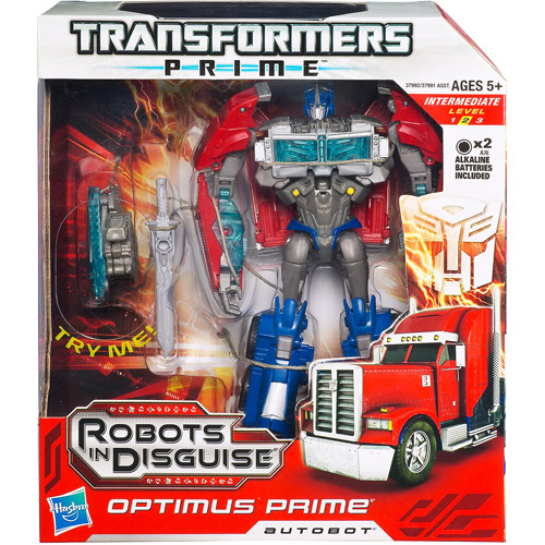 Transformers Prime Robots In Disguise Autobot Optimus Prime Action Figure by Hasbro Inc.
