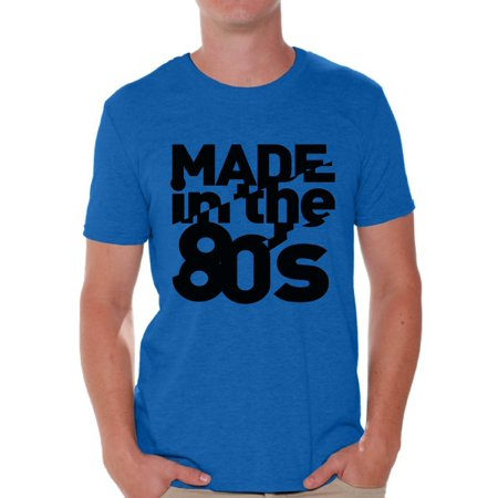 Awkward Styles Made in 80s Shirt 80s T Shirt 80s Birthday Shirt Mens 80s Accessories Retro Vintage Rock Concert T-Shirt 80s Costume 80s Clothes for Men 80s Outfit 80s Party (Mens 80s Costume)