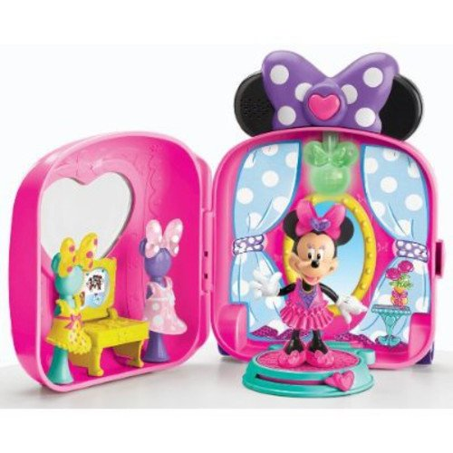 Fisher-Price Minnie's Fashion On-the-Go Bow-Tique & Doll