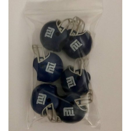 6 Pack New York Giants 2017 Helmet Mini Football 2