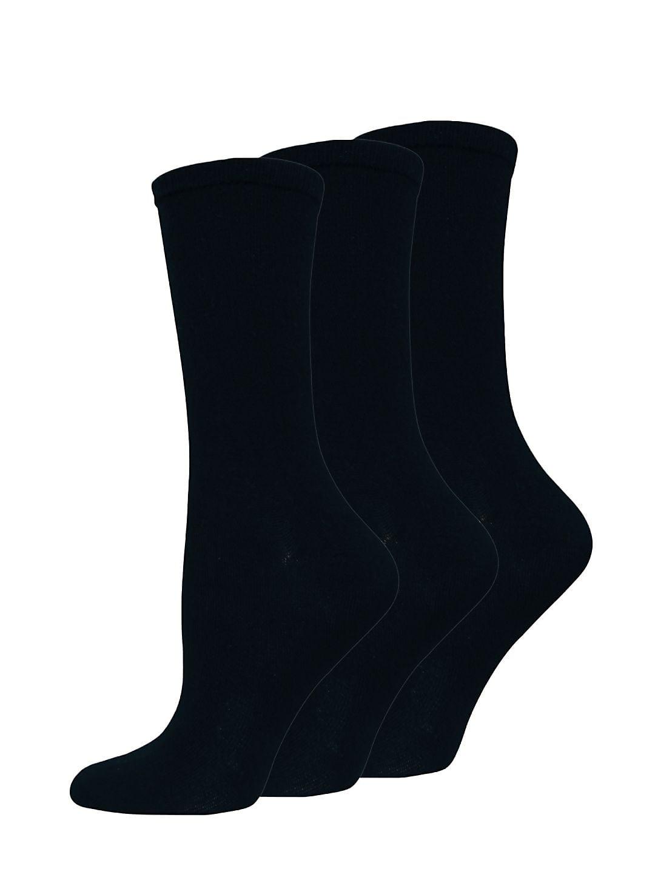 Solid Trouser Three Pack Socks