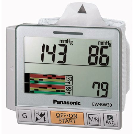 Panasonic EW-BW30S Wrist Blood Pressure Monitor Trend Grapg Chart Display