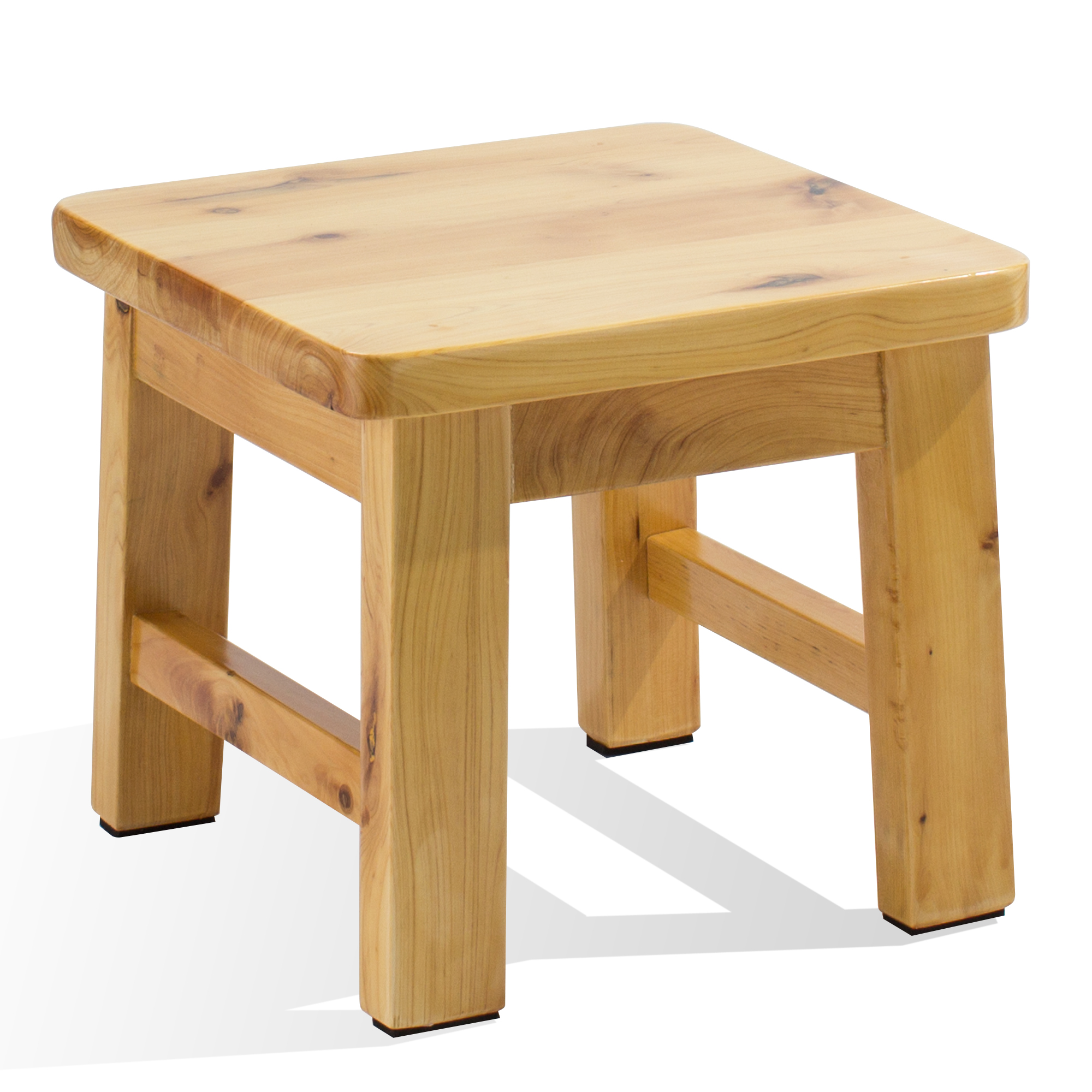 Frisby Hardwood Birch Footstool Water Resistant