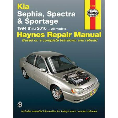 2000 Kia Sephia Review (Kia Sephia, Spectra and Sportage : Covering Sephia (1994 Thru 2001), Spectra (2000 Thru 2009) and Sportage (2005 Thru)