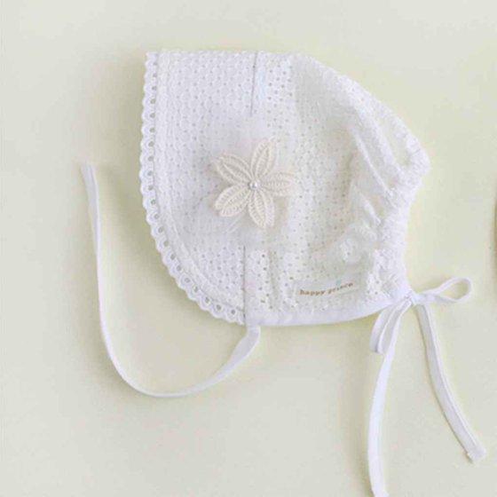 960ee6597f4 BONRICH - Newborn Infant Beach Bucket Hat Baby Girl Boy Sun Summer Pure  Color Cap Lace Bonnet - Walmart.com