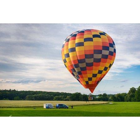 - Canvas Print Hot Air Balloon Ride Balloon Hot Air Balloon Sky Stretched Canvas 10 x 14