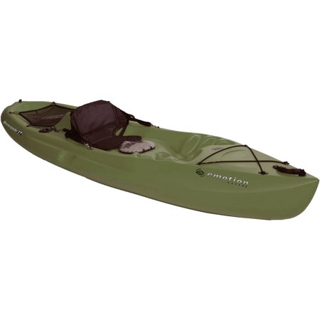 Emotion renegade 10 39 sit on top fishing kayak for Fishing kayak walmart