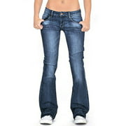 Women High Waist Stretchy Skinny Denim Jeans Bell Bottom Flare Wide Leg Pants Ladies Long Slim Trousers