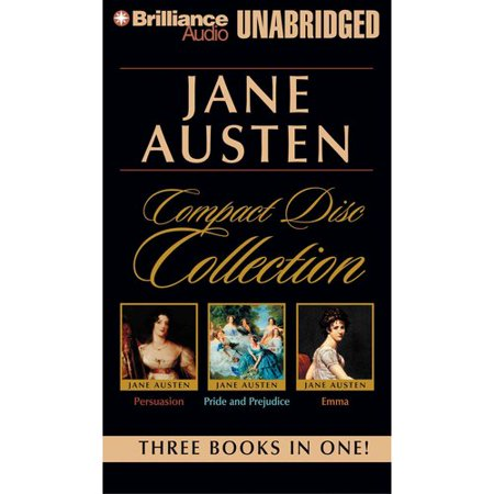 Jane Austen Compact Disc Collection: Persuasion Pride and Prejudice Emma by