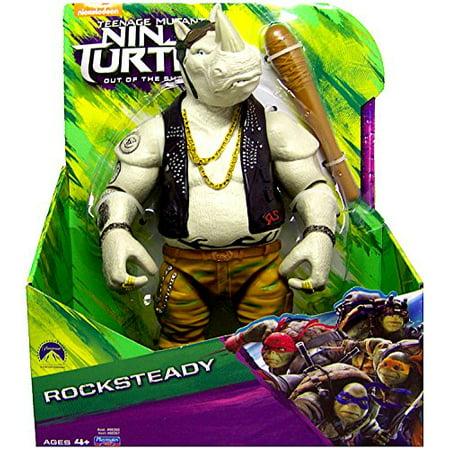 Teenage Mutant Ninja Turtles TMNT Out of the Shadows Rocksteady Action Figure 11