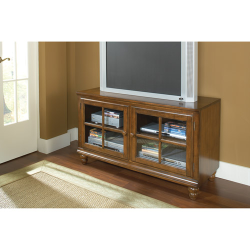 Hillsdale Furniture Grand Bay Pine Entertainment Console for TVs up to 50""