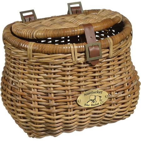 Madaket cisco creel basket w lid for Fish basket walmart