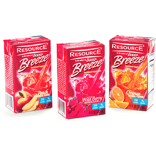 Resource Breeze Fruit Beverage Variety, 27-Pack
