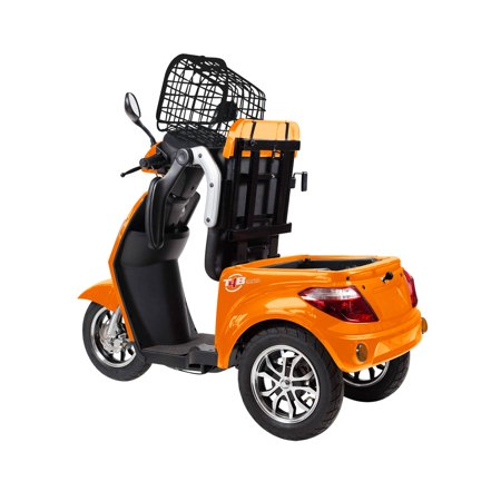 T4B LU-500W Mobility Electric Recreational Outdoors Scooter 48V20AH with Three Speeds, 14/22/32kmph - Orange - image 13 de 14