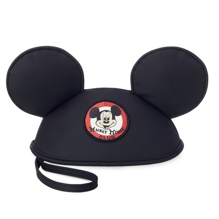 Disney Parks Mickey Mouse Club Mouseketeer Ear Hat Pouch New with Tags - Mickey Ears Hats