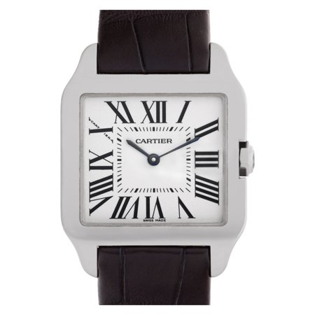 Pre-Owned Cartier Santos Dumont W2009451 Gold Watch (Certified Authentic & Warranty)