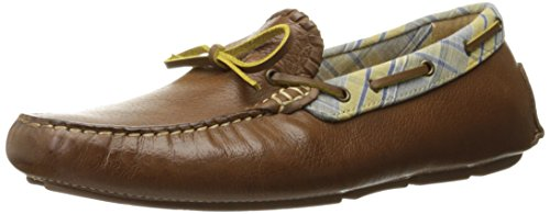 Jack Rogers Men's Paxton Boat Shoe, Tan, 10 M US