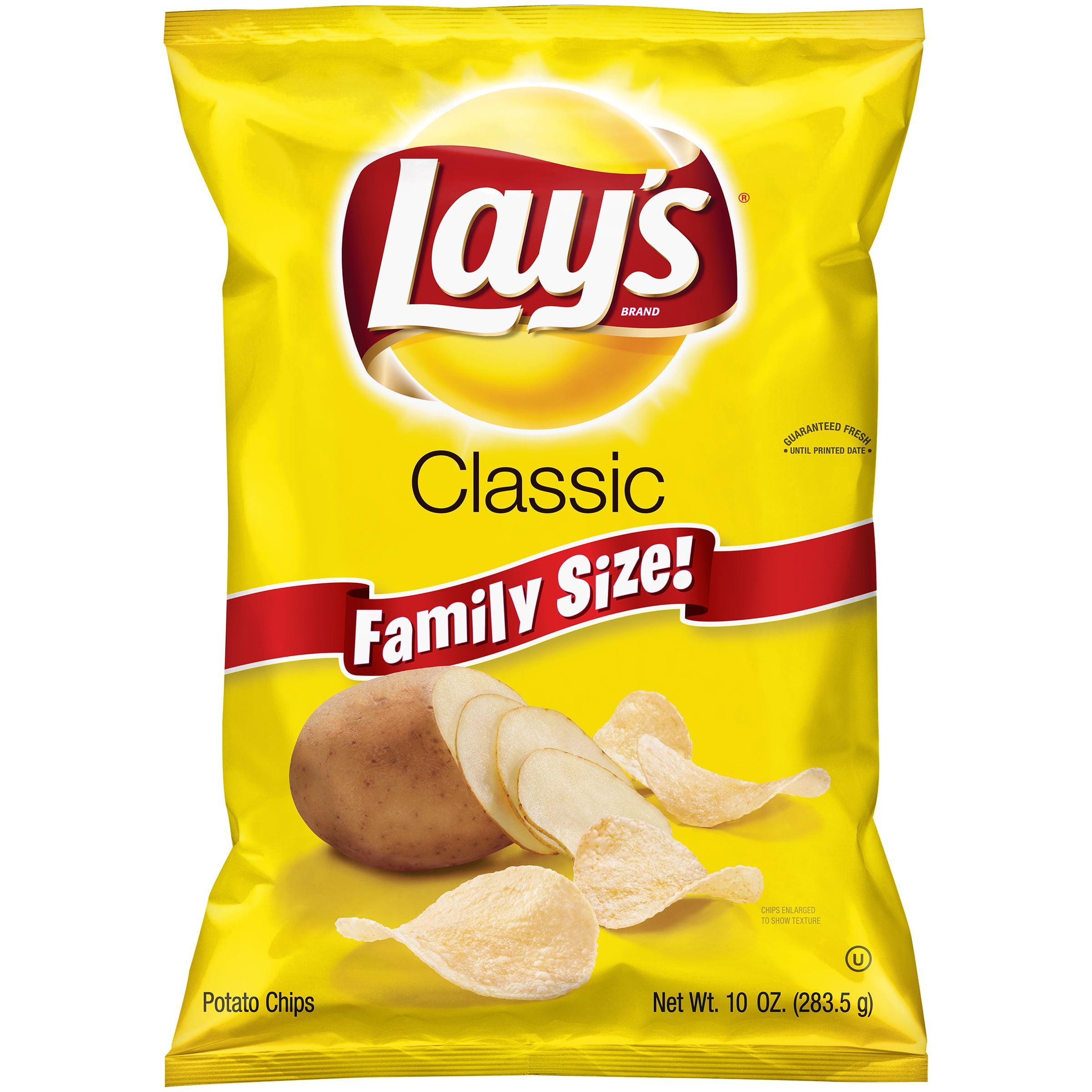 Lay's Classic Potato Chips, 10 oz. Bag