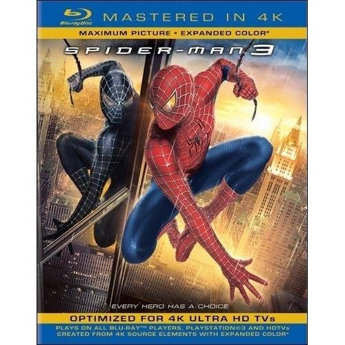 Spider-Man 3 (Blu-ray + Digital HD) (With INSTAWATCH) (Widescreen)