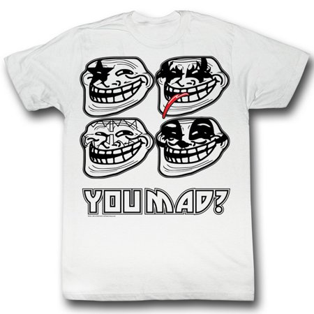 U Mad  You Mad Bro  Meme Gif Trending Kiss You Mad  Adult T Shirt