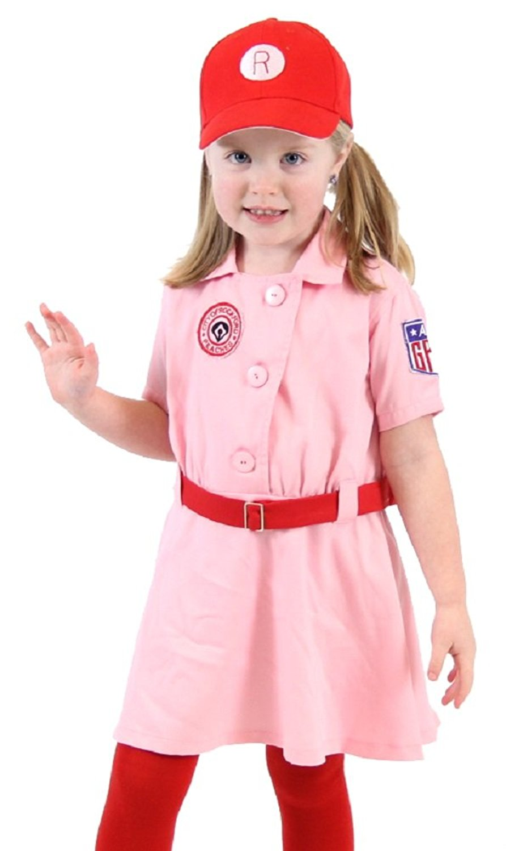 Rockford Peaches AAGPBL Baseball Girls Costume Dress - Walmart.com d6a29b5ead