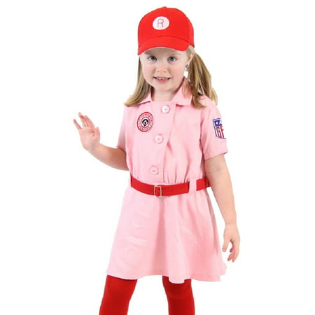 Baseball Girl Costumes (Rockford Peaches AAGPBL Baseball Girls Costume)