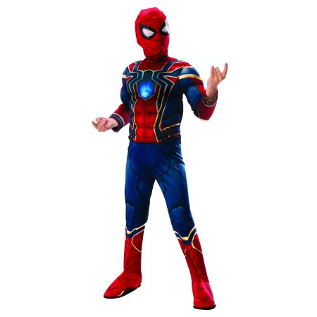 Rubies Costume Co. Deluxe Iron Spider Muscle Chest Child Costume (Spider Legs Costume Accessories)