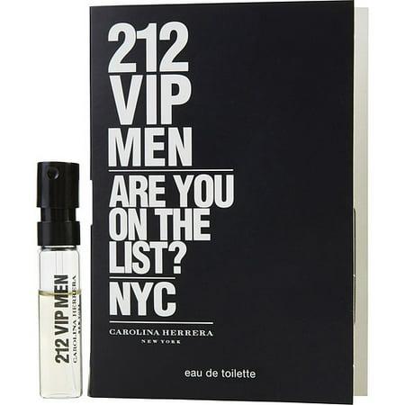 212 VIP by Carolina Herrera - EDT SPRAY VIAL MINI - MEN