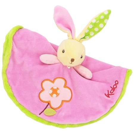 Colors Round Doudou Rabbit Flower Toy, Colors Collection by Kaloo is a range where flowers are blooming, birds are singing, and nature blossoms! By (Kaloo Doudou Rabbit)
