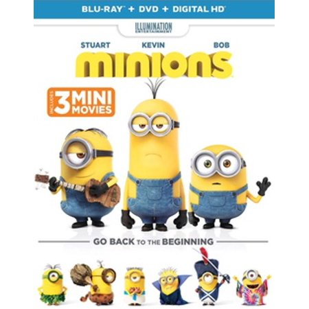 Minions (Blu-ray) - Minion Movie Characters