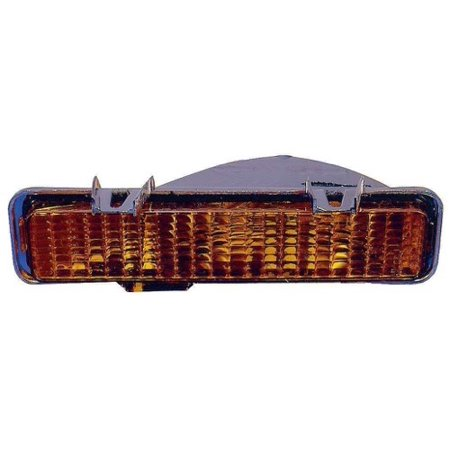1993 Gmc Sonoma - Compatible 1991 - 1993 GMC Sonoma Parking Light Assembly / Lens Cover - Right (Passenger) Side 5976644 GM2521109 Replacement For GMC Sonoma