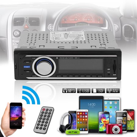 Universal 6206 Auto Car Audio Stereo In Dash Am Fm Aux Input Receiver With Sd Usb Mp3 Radio Player