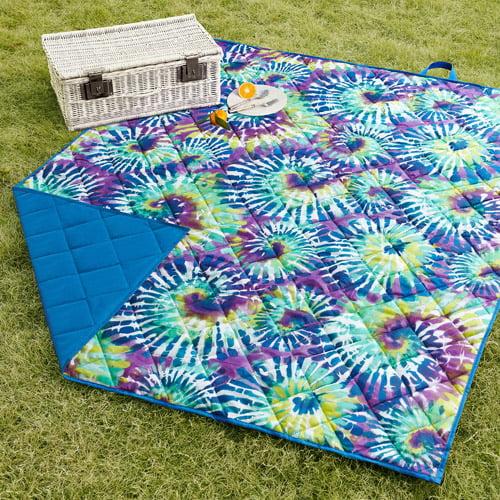 Mainstays Tie Dye Lawn Blanket