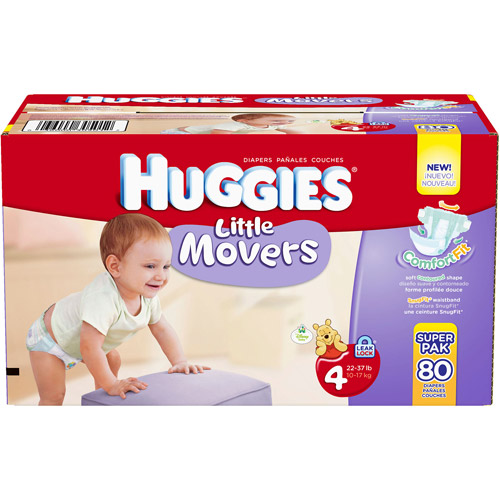 Huggies Little Movers Size 3, 88 ct