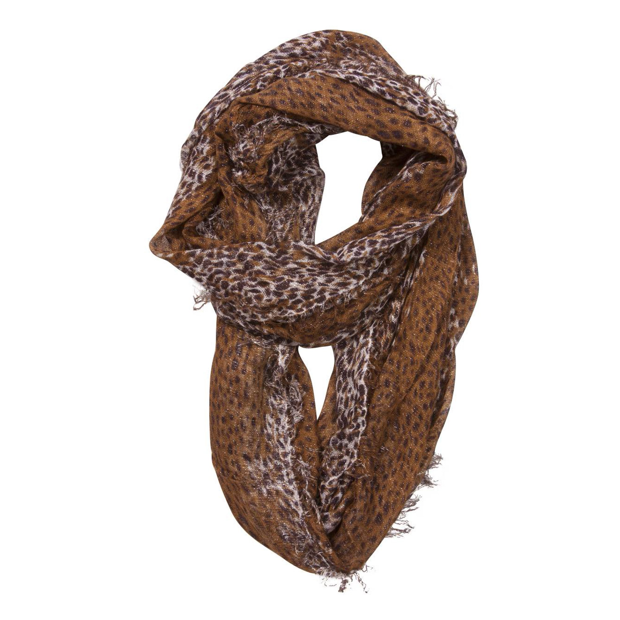 Brown Dotted Scarf | Walmart Canada