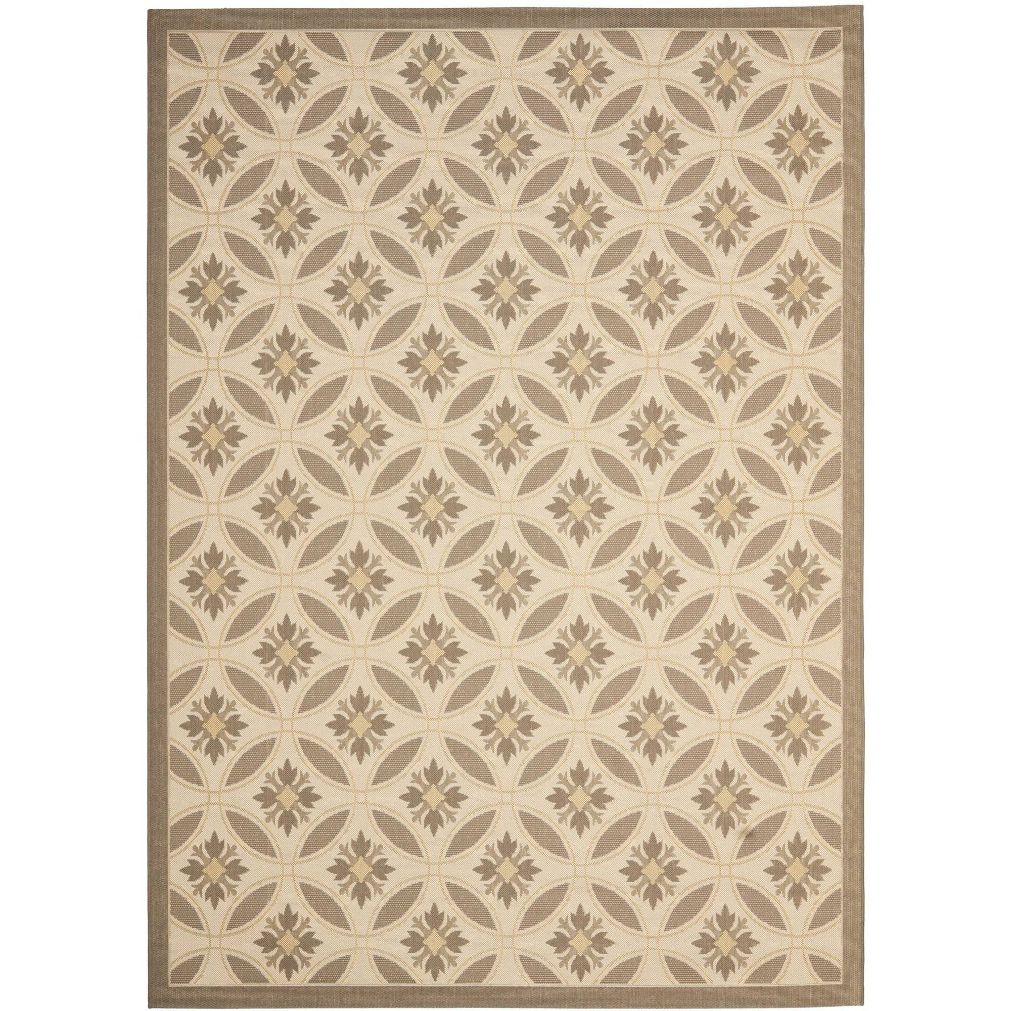 Safavieh Courtyard Rose Indoor/Outdoor Area Rug