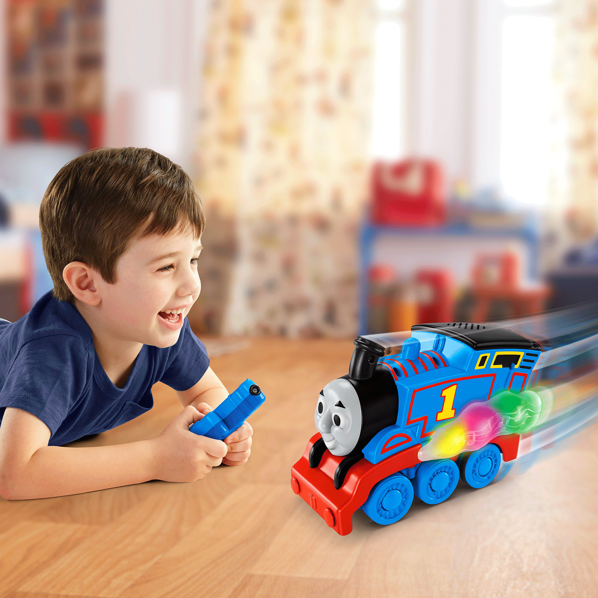 Fisher Price Thomas the Train Steam Rattle & Roll Thomas by Fisher-Price