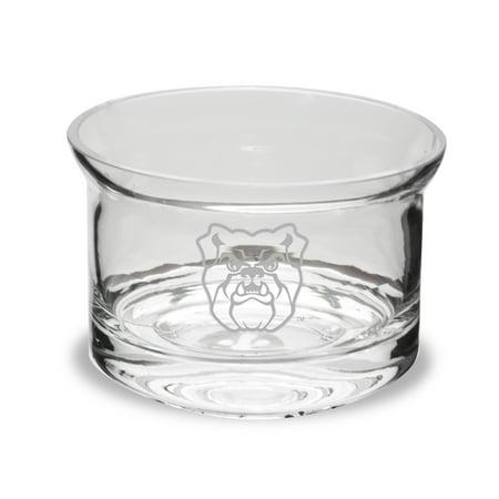 Butler Bulldogs Deep Etched 5 inch Flair Crystal Candy - Crystal Bulldog