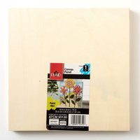 "Plaid Wood Surfaces 10"" x 10"" Canvas Panel, 1 Each"