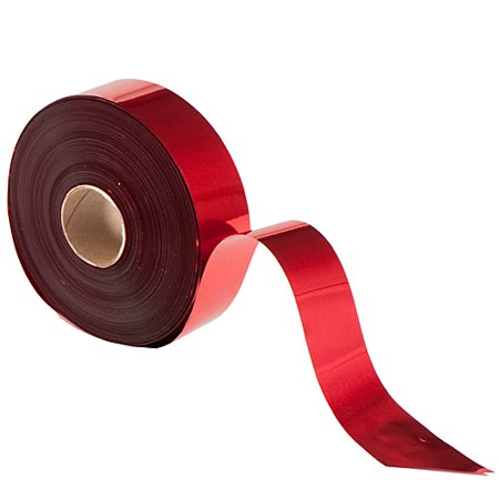 Red Metallic Streamers (2