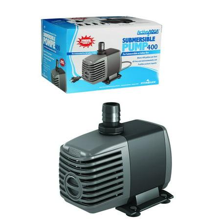 Hydrofarm active aqua 400 gph submersible hydroponics for Hydroponic submersible pump