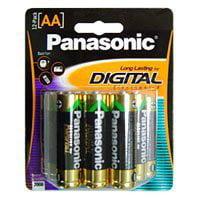 Panasonic AM3PA12B 12 Pack AA Alkaline Batteries