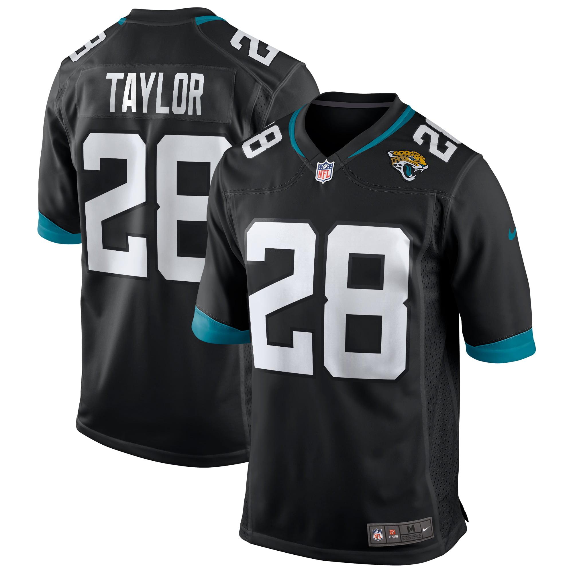 Fred Taylor Jacksonville Jaguars Nike Game Retired Player Jersey - Black