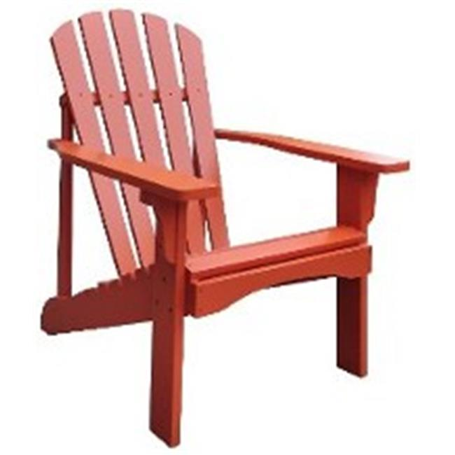 Rockport Adirondack Chair, Rust