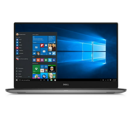 Dell XPS 15 - 9560 Intel Core i7-7700HQ X4 2.8GHz 8GB 256GB SSD, Silver (Certified Refurbished)