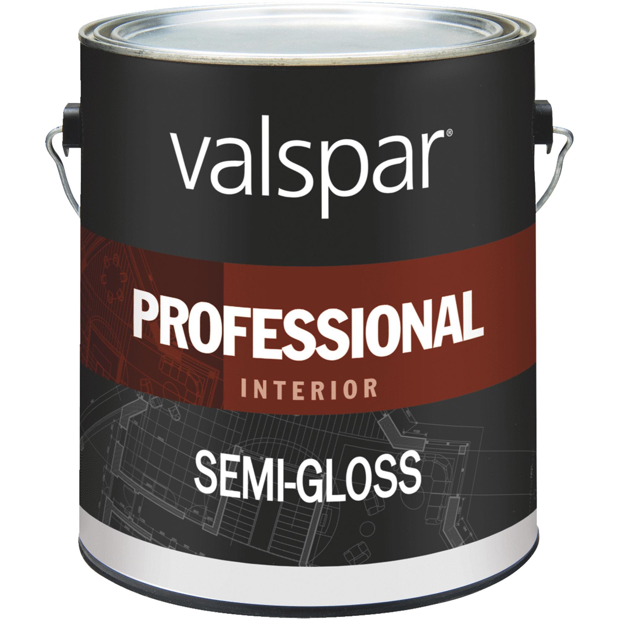 Valspar Professional Latex Semi-Gloss Interior Wall Paint