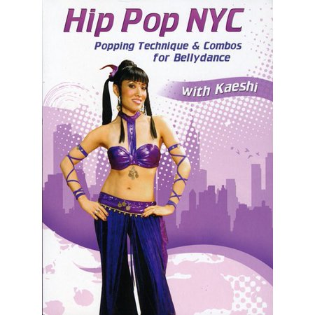 Hip Pop Nyc: Popping Technique and Combos For Bellydance for $<!---->