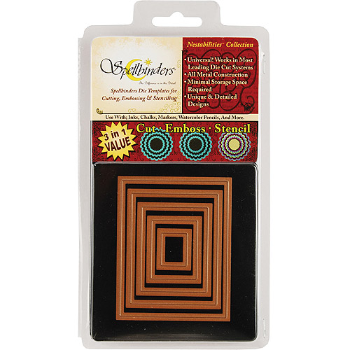 Spellbinders Nestabilities Dies-Classic Rectangle, Small - 5