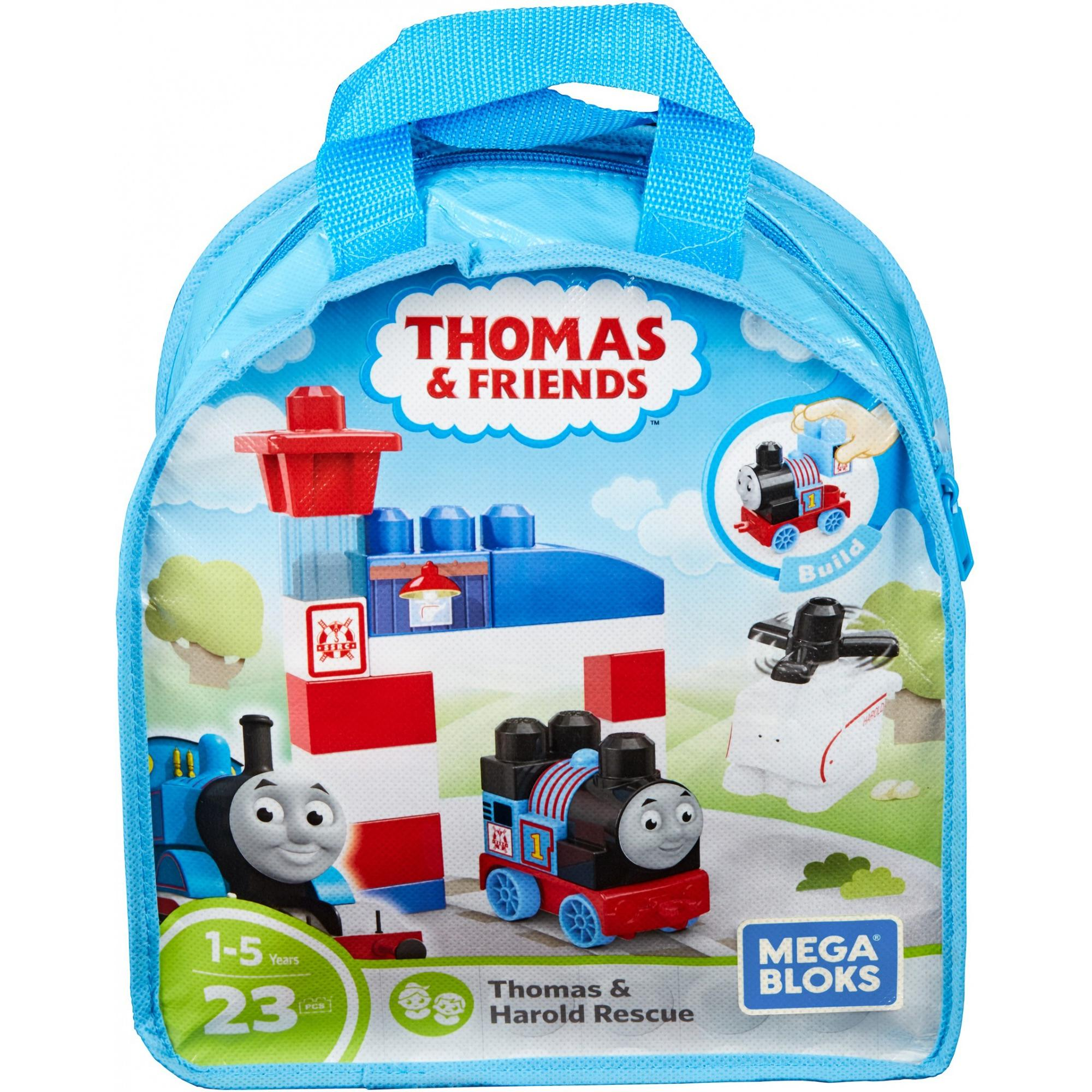 Mega Bloks Thomas & Friends Sodor Search and Rescue Center Thomas and Harold by Mega Brands, Inc.