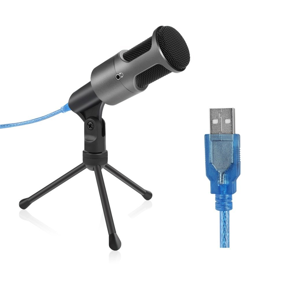 ARCHEER USB Studio Condenser Recording Microphone for Laptop Computer PC, Home Studio USB... by Generic